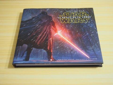 Artbook посвящённый 7 эпизоду Звёздных Войн на видео