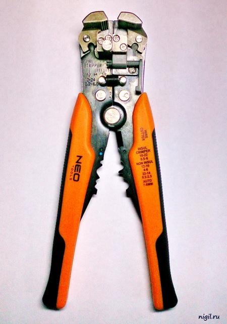 Стриппер для зачистки проводов. Незаменимый инструмент для электрика