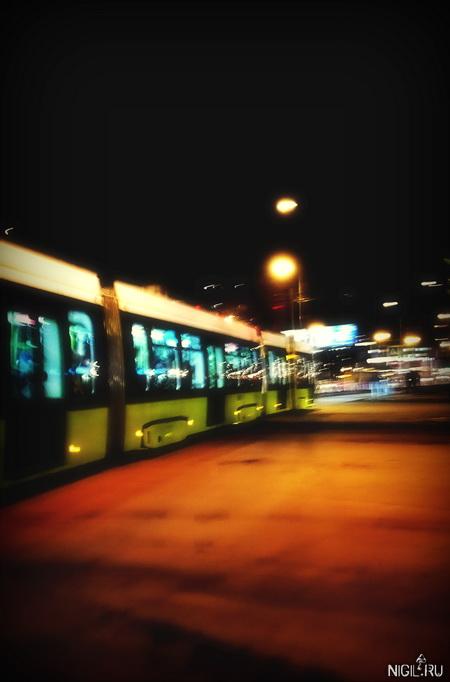 Поехали по улице трамваи…
