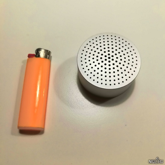 Маленькая, но мощная портативная колонка Mi Bluetooth Speaker Mini. Обзор